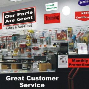 HVAC Counter Sales Area